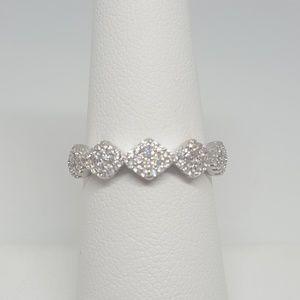 Jewelry - Sterling Silver Rhombus Shape Ring
